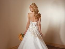 Cudowna suknia Mori Lee 2108 ecru