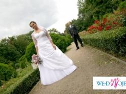 Cudowna suknia ślubna!!!!!
