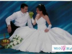 Cudowna suknia ślubna Agnes - kolekcja 2007