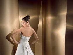 Cudowna suknia ślubna Lisa Ferrera, r. XS/S + GRATIS!!!