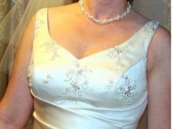 Cudowna suknia ślubna - nietypowa, bo w kolorze cappucino!