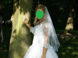 Cudowna suknia ślubna PRINCESSA!