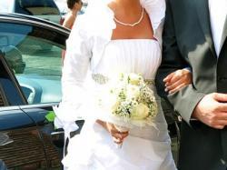 Cudowna suknia ślubna rozm.36