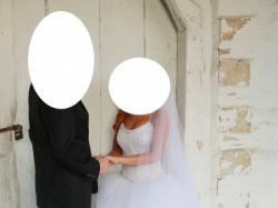 Cudowna Suknia Ślubna !! tanio