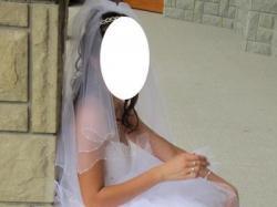 Cudowna tiulowa suknia ślubna - model 2010