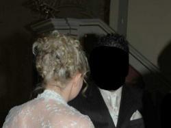 Cudowna z trenem suknia ślubna
