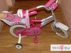Cudowny rowerek dla księżniczki 12 cali