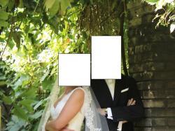 Cymbeline koronkowa suknia Guirlande/Huston rozm. 38