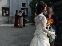 Cymbeline Racine sprzedam - piękna i oryginalna suknia!