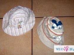 czapeczka kapelusik 0-6 miesięcy
