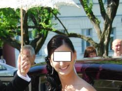 Czarująca suknia ślubna