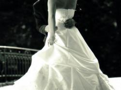 czarująca suknia ślubna własnego projektu