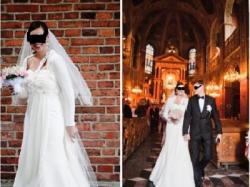 czarująca SUKNIA  ślubna z dodatkami