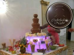 Czekoladowe Niebo - wynajem fontann czekoladowych