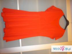 Czerwona sukienka RIVER ISLAND, rozm. 10 (36)