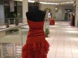Czerwona suknia Cymbeline - Saline