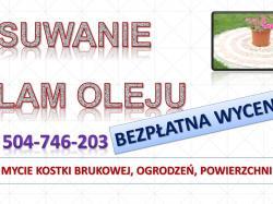 Czyszczenie i mycie kostki brukowej, cena tel. 504-746-203. Wrocław.