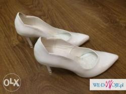 Damskie buty ślubne z podeszwą taneczną