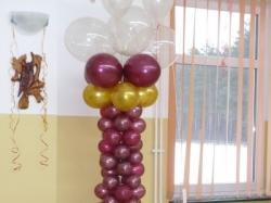 Dekoracje sal, balony helowe