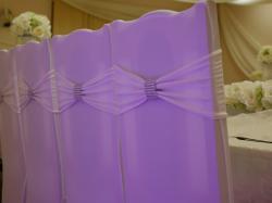 dekoracje sal lubelskie pokrowce na krzesła
