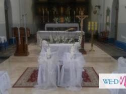 Dekoracje ślubne Dekoracje Weselne Ogłoszenie Komis Baza