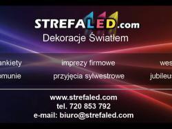 Dekoracje światłem Strefaled.com