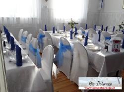 Dekoracje weselne Jasło,dekoracje ślubne Jasło, pokrowce na krzesła Jasło, dekoracje Jasło, dekoracje weselne Gorlice, dekoracje ślubne Gorlice, pokrowce na krzesła Gorlice