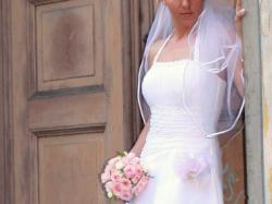 Delikatna i kobieca suknia slubna