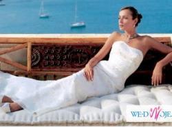 Delikatna i kobieca suknia ślubna
