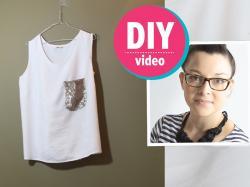 DIY z Ulą: jak urozmaicić jednokolorową koszulkę