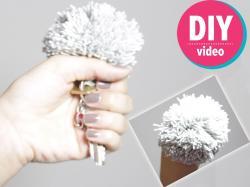 DIY z Ulą: jak zrobić pompon