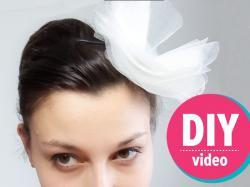 DIY z Ulą: tiulowa ozdoba na włosy