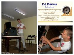 DJ Darius  na osiemnastkę, wesele, karaoke, lub inną imprezę