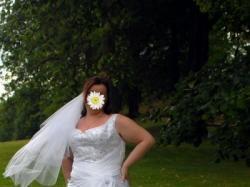 dla dużej sincerity bridal 3328 rozmiar 46/48