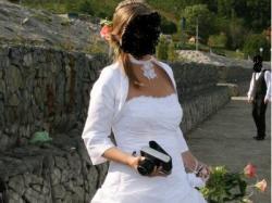 Dla nowoczesnej Panny Młodej suknia ślubna wraz z dodatkami