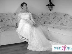 do sprzedania bajecznie romantyczna suknia ślubna pronovias onice