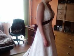 Do sprzedania piekna suknia LA SPOSA biała