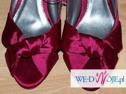 DUNNES rozm. 38 w pięknym ciemnym różowym kolorze!! hit ślubny :)