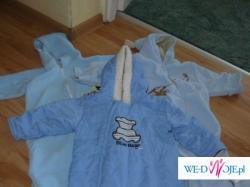 Duża paka ładnych, niezniszczonych ubranek dla niemowlaczka