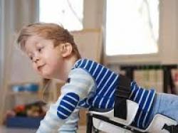 Dziecięcy , rehabilitacyjny pełzak dla dziecka niepełnosprawnego ruchowo Krabat