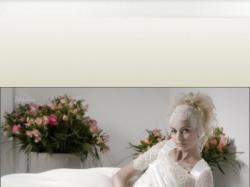 Dziewczęca suknia ślubna firmy Papilio
