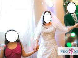 Efektowna, subtelna  i kobieca suknia ślubna