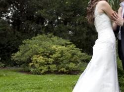 Efektowna Suknia ślubna rozmiar 38, stan IDEALNY !!!