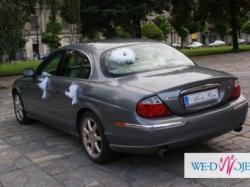 Ekskluzywny srebrny JAGUAR na Twój ślub !