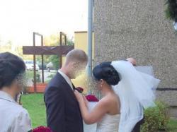 Elagancka suknia ślubna z Salonu Mody Ślubnej Sarah