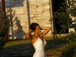 Elegancka ale i sexy suknia MODESA prosto z wesela we Włoszech
