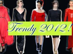 Elegancka czerń i czerwień 2012