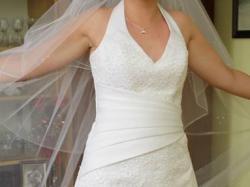 Elegancka i stylowa sukienka ślubna na sprzedaż
