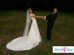 elegancka i stylowa suknia ślubna z kolekcji Atelier Diagonal 2006