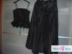Elegancka sukienka (gorset + spódnica), rozm.36